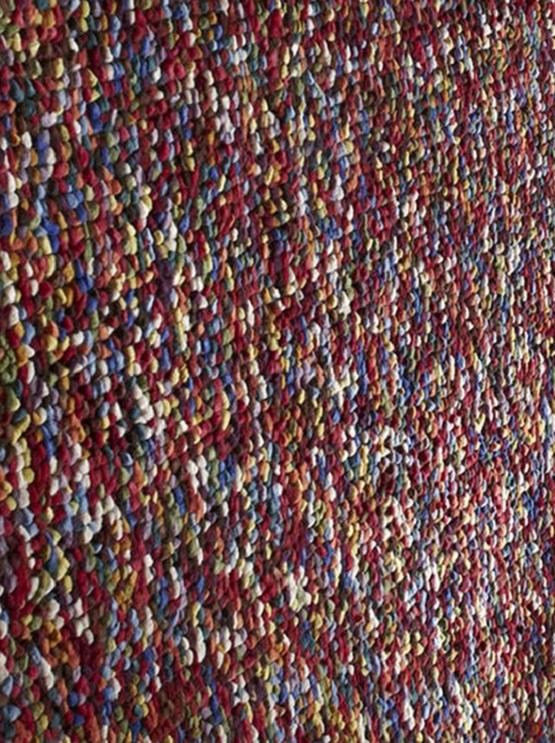 Wol vloerkleed Pablo kleur multi