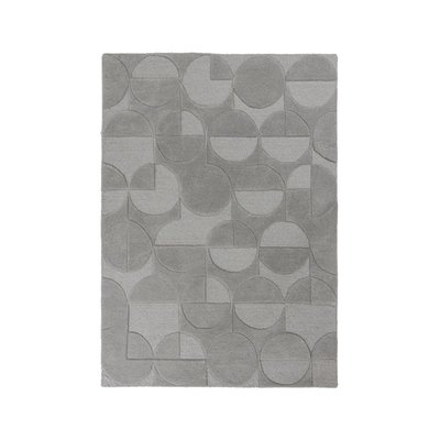 Wollen vloerkleed Galant Grey