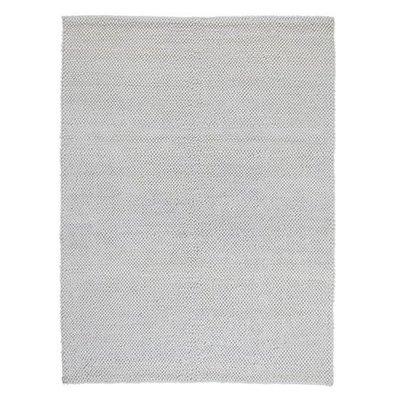 Wol vloerkleed Pixel kleur naturel