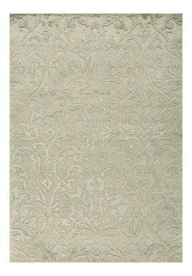 Handgemaakt wollen vloerkleed Mainz kleur grijs