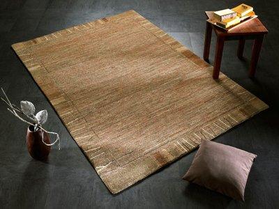 Nepal zuiver scheerwol vloerkleed Silky Plus 469 Natur
