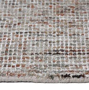 Wollen vloerkleed Amazone Beige